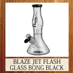 BLAZE JET FLASH GLASS BONG