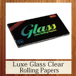 Luxe Glass Clear Rolling Papers