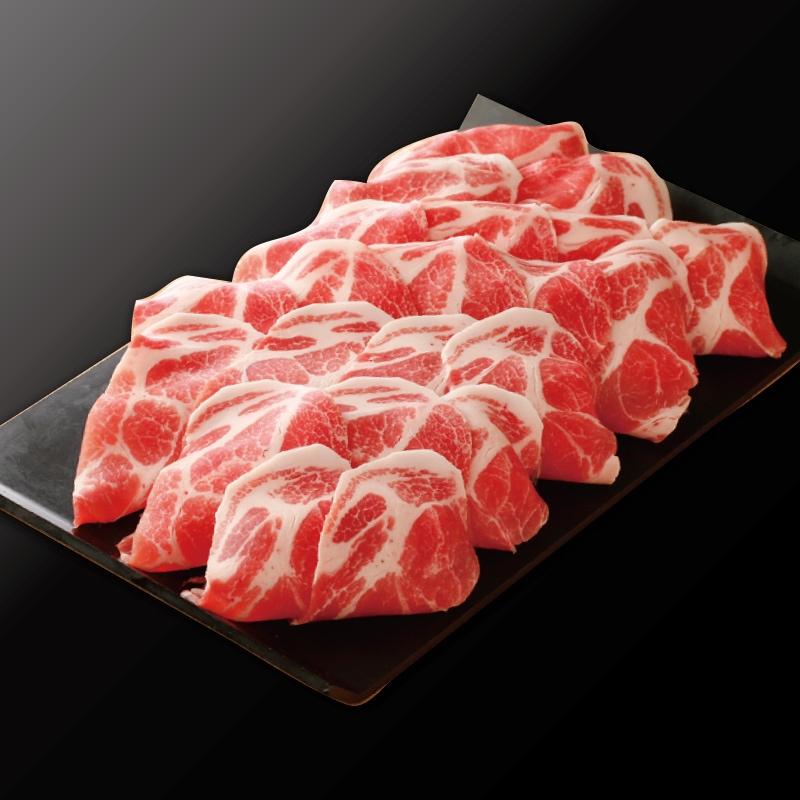 薄切り 国産豚肩ロース(500g)