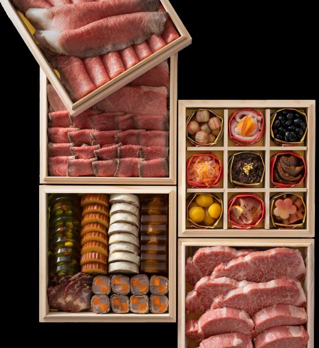 竹福の吟選肉おせち2021