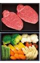 【旬菜お重セット】国産黒毛和牛ヒレステーキ+旬のお野菜