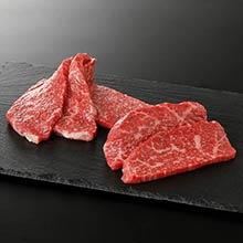 焼肉用 国産黒毛和牛赤身(500g)