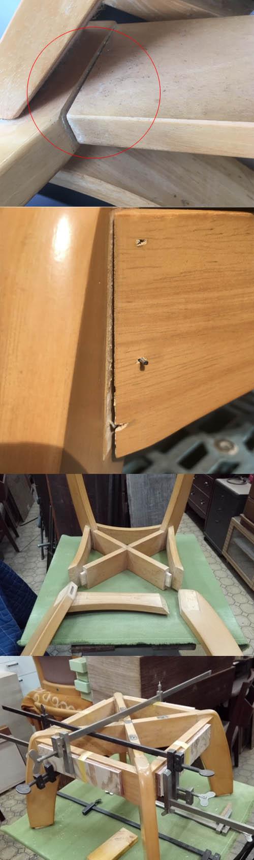 椅子の接合修理