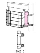 取付方法 コンクリート式側付式