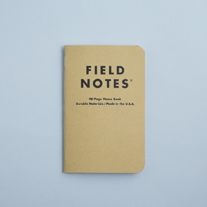 FIELD NOTES / フィールドノート フィールドノート  3-PACKS