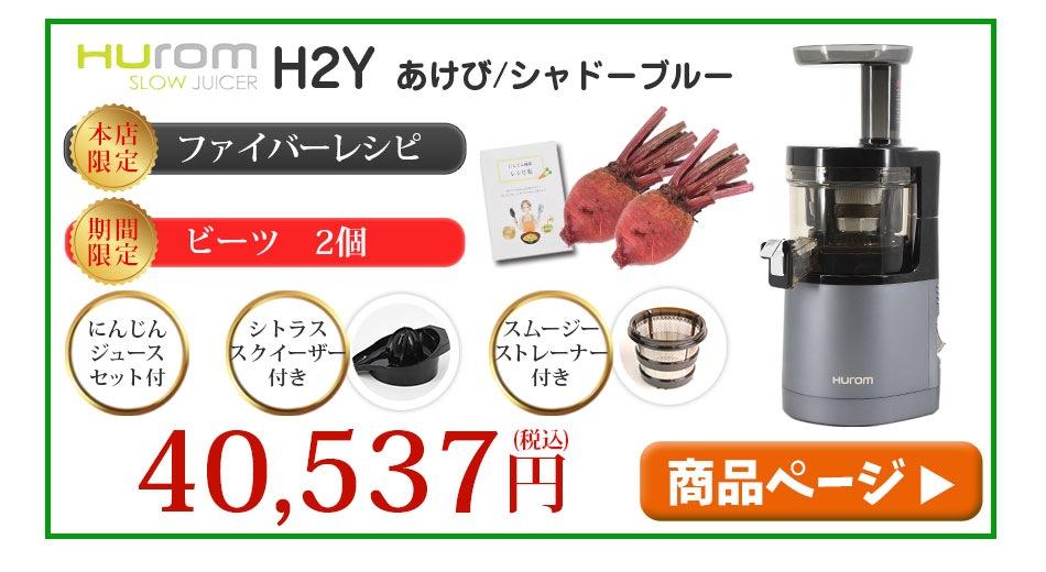 ヒューロムスロージューサーH2Y(ビーツ2個)