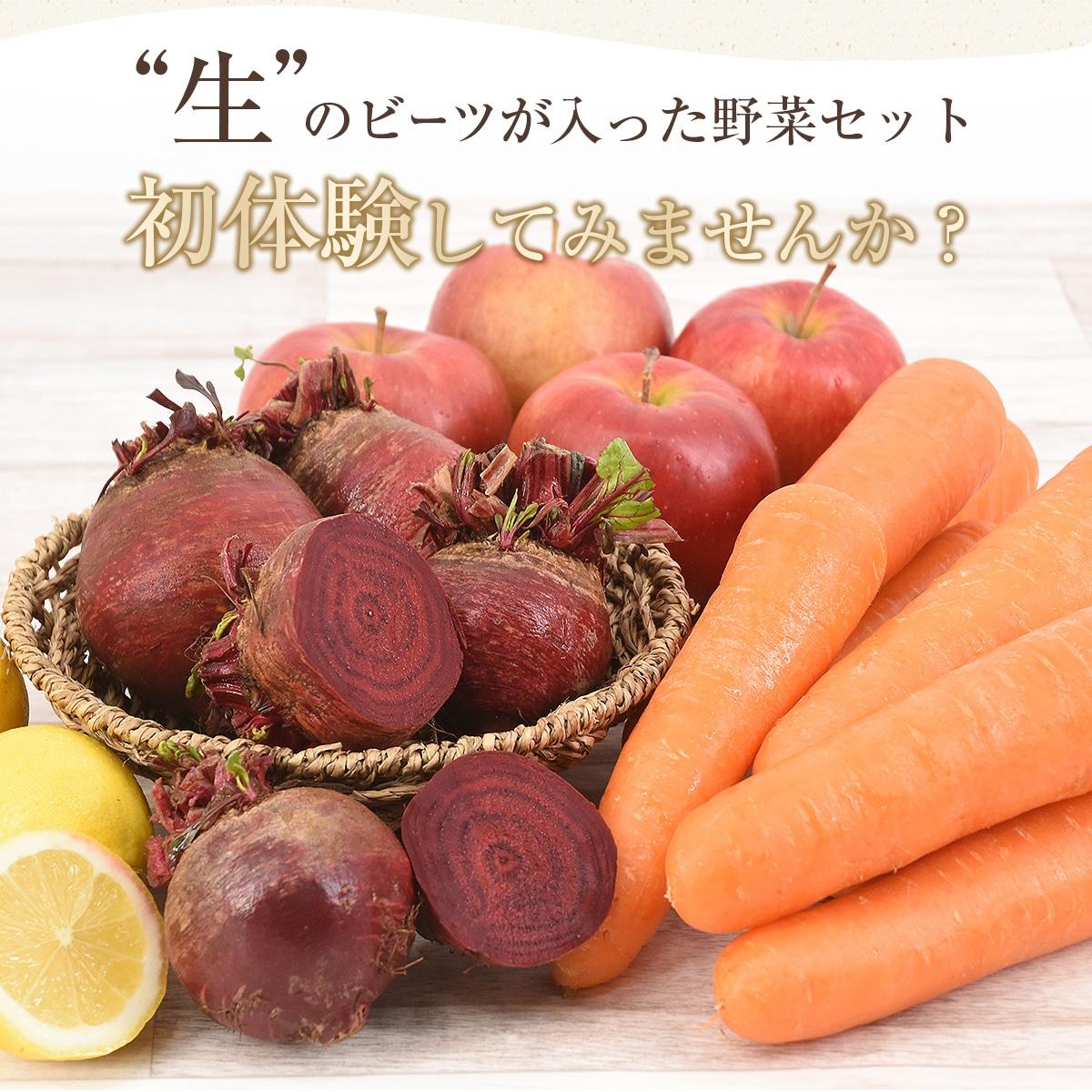 生のビーツが入った野菜セット、初体験してみませんか?