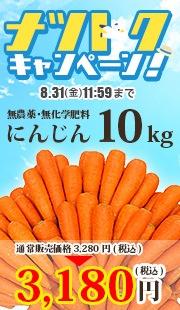 無農薬にんじん10kg