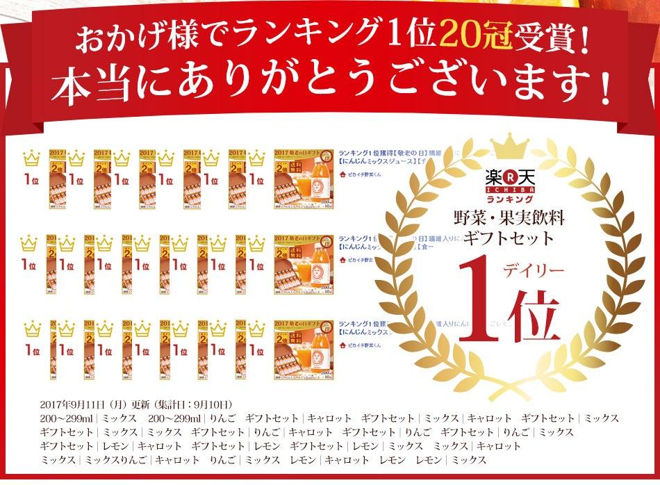 楽天ランキング20冠受賞