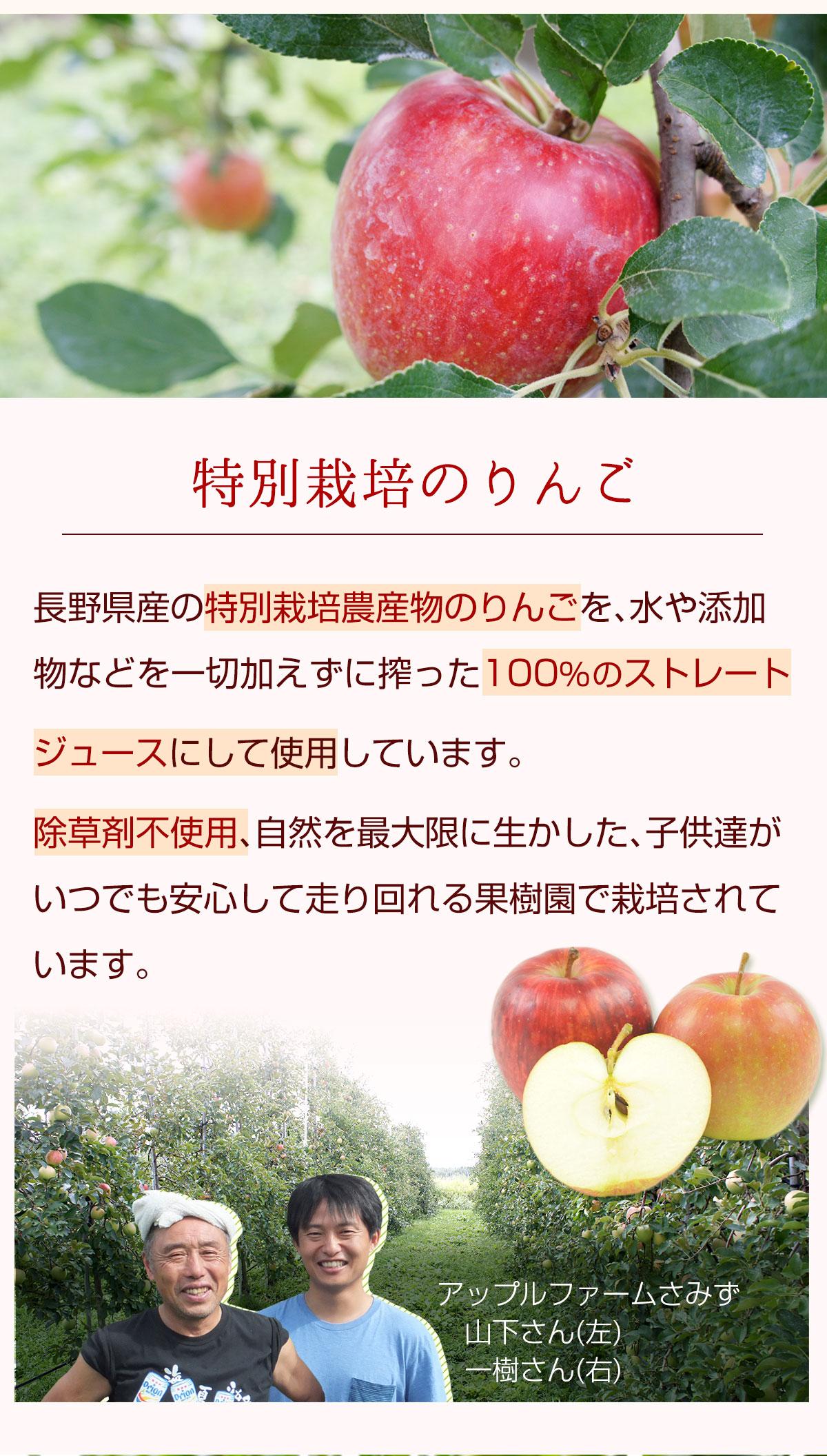 特別栽培のりんご