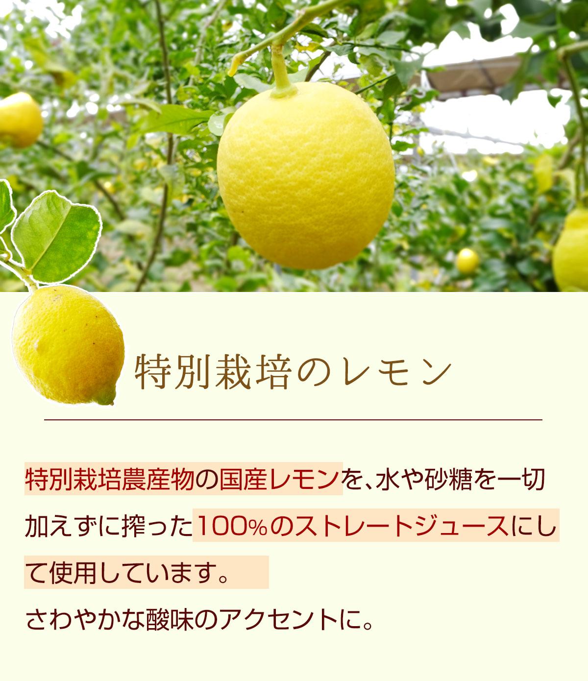 特別栽培のレモン