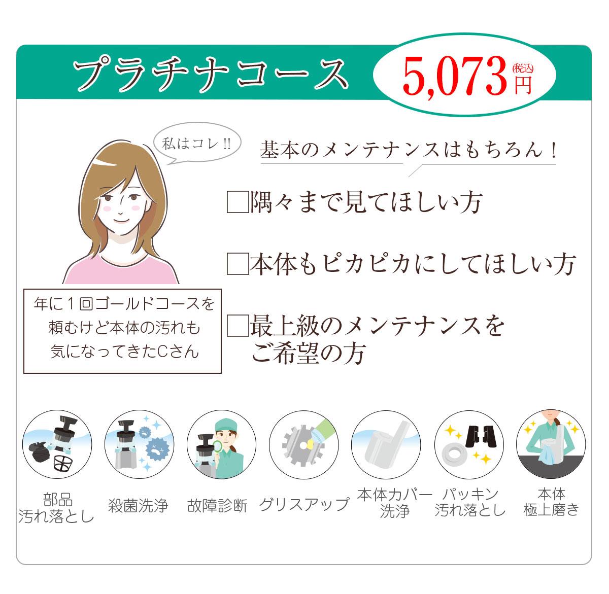 プラチナコース 5,073円