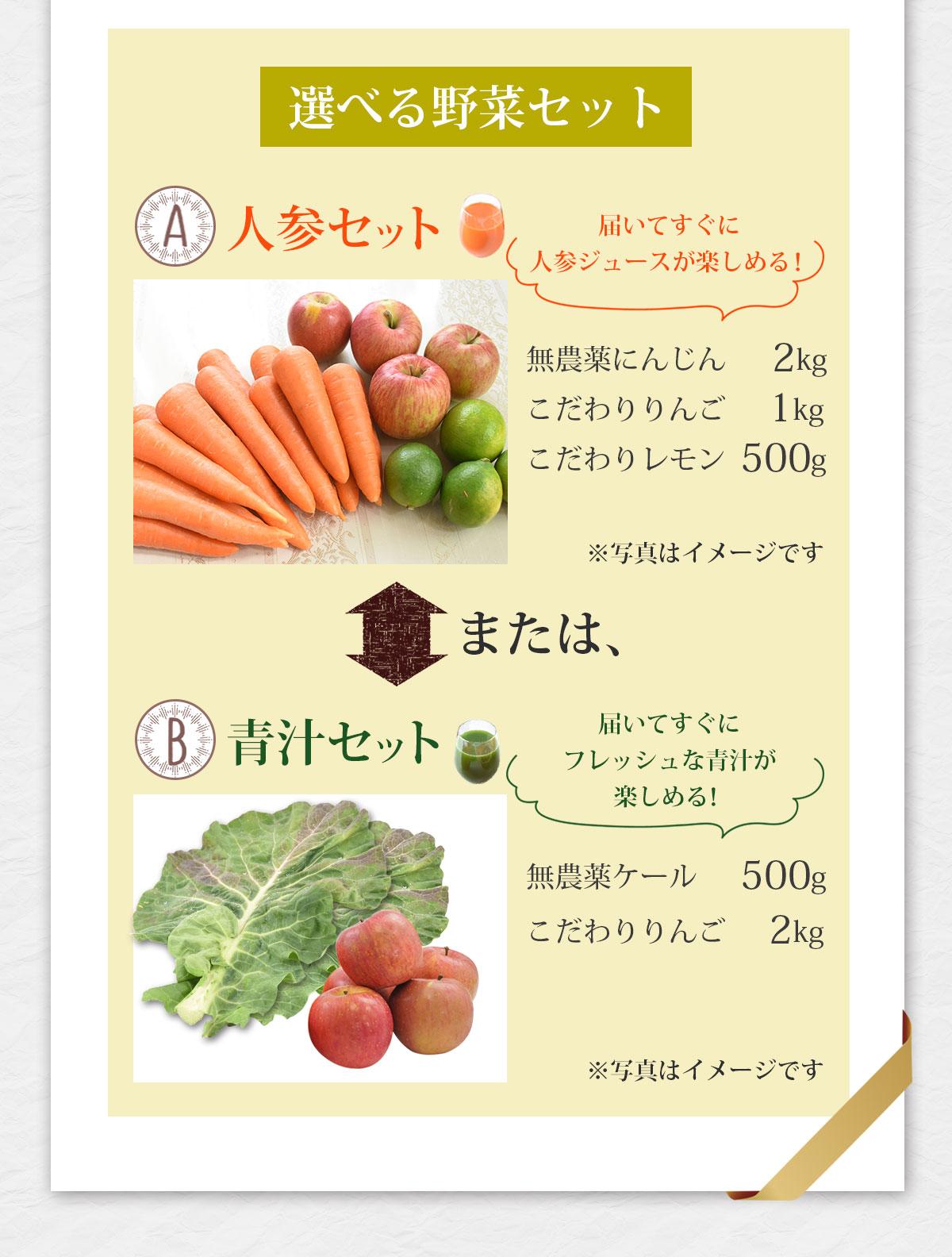 選べる野菜セット