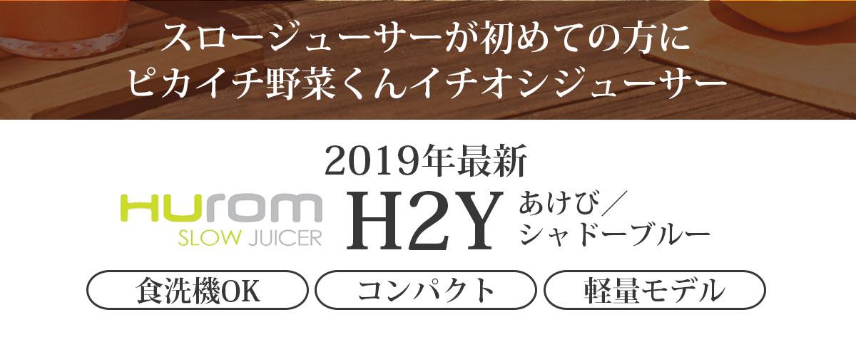 2019年最新ヒューロムスロージューサーH2Y