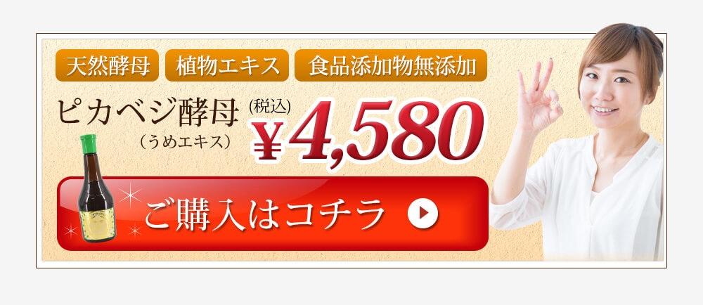 ピカベジ酵母 4,580円(税込)ご購入はコチラ