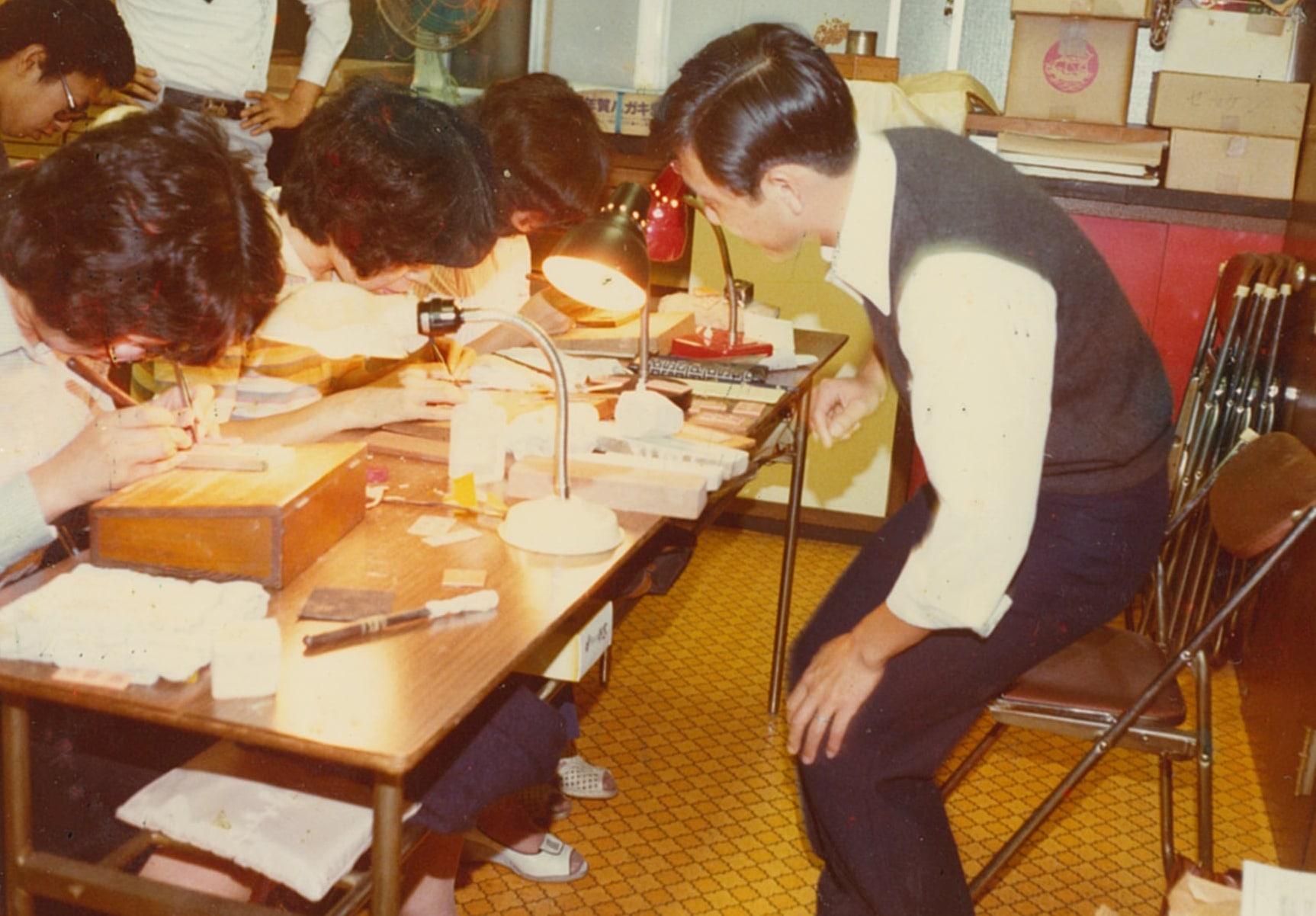 東京印章協同組合技術講習会講師
