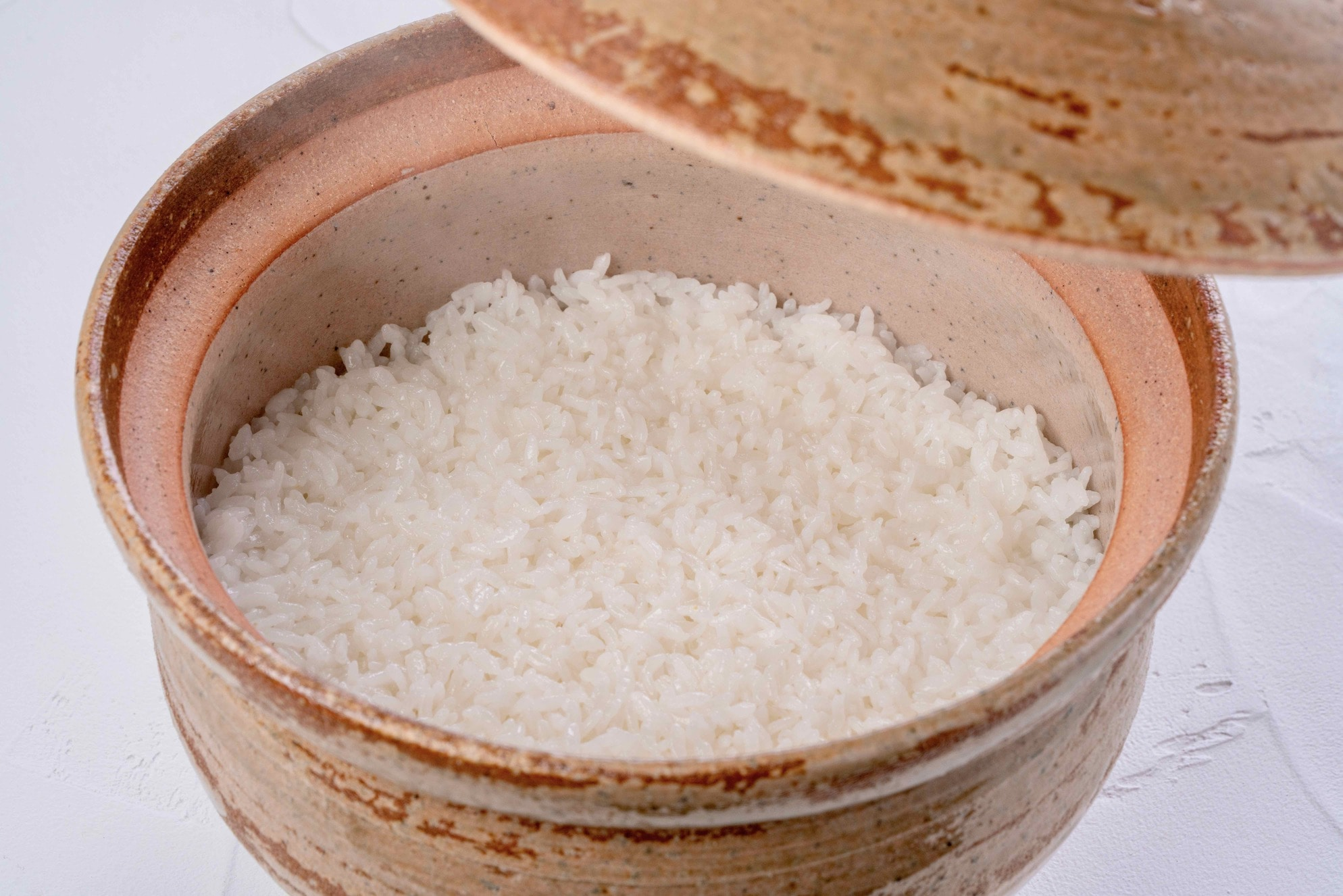 土鍋ご飯,炊きたての北海道産ゆめぴりか