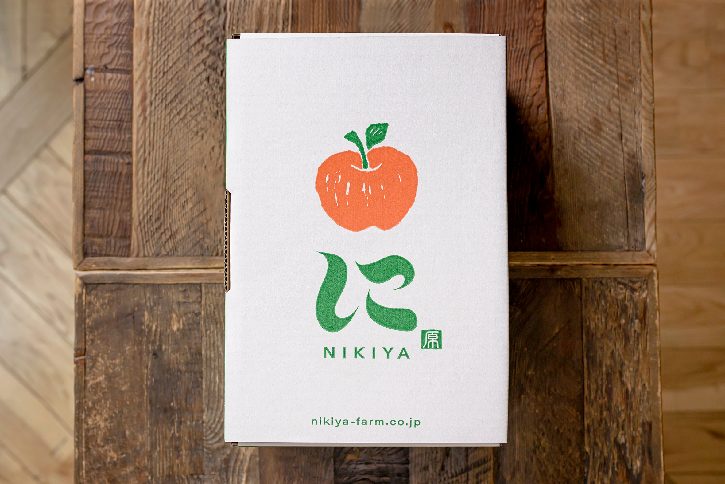 NIKIYA FARM & BREWERY-にきや-のさくらんぼ専用箱,NIKIYA FARM & BREWERY -にきや-のオリジナルパッケージ