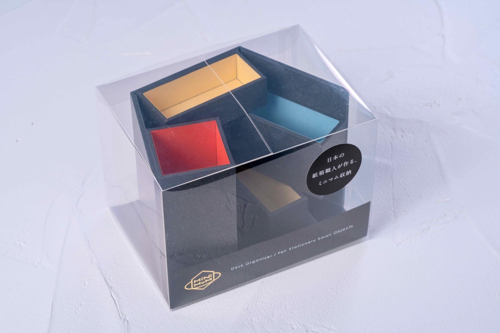 モリタのMiNiMuM Space BOX-1(ブラック)のパッケージ
