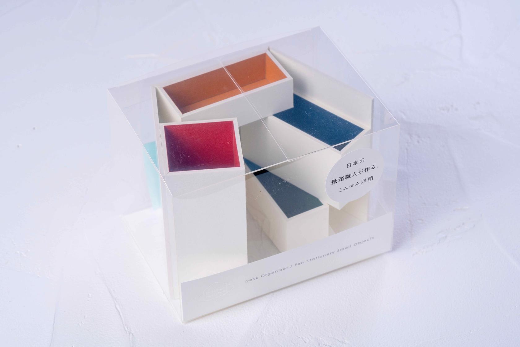 モリタのMiNiMuM Space BOX-1(ホワイト)のパッケージ