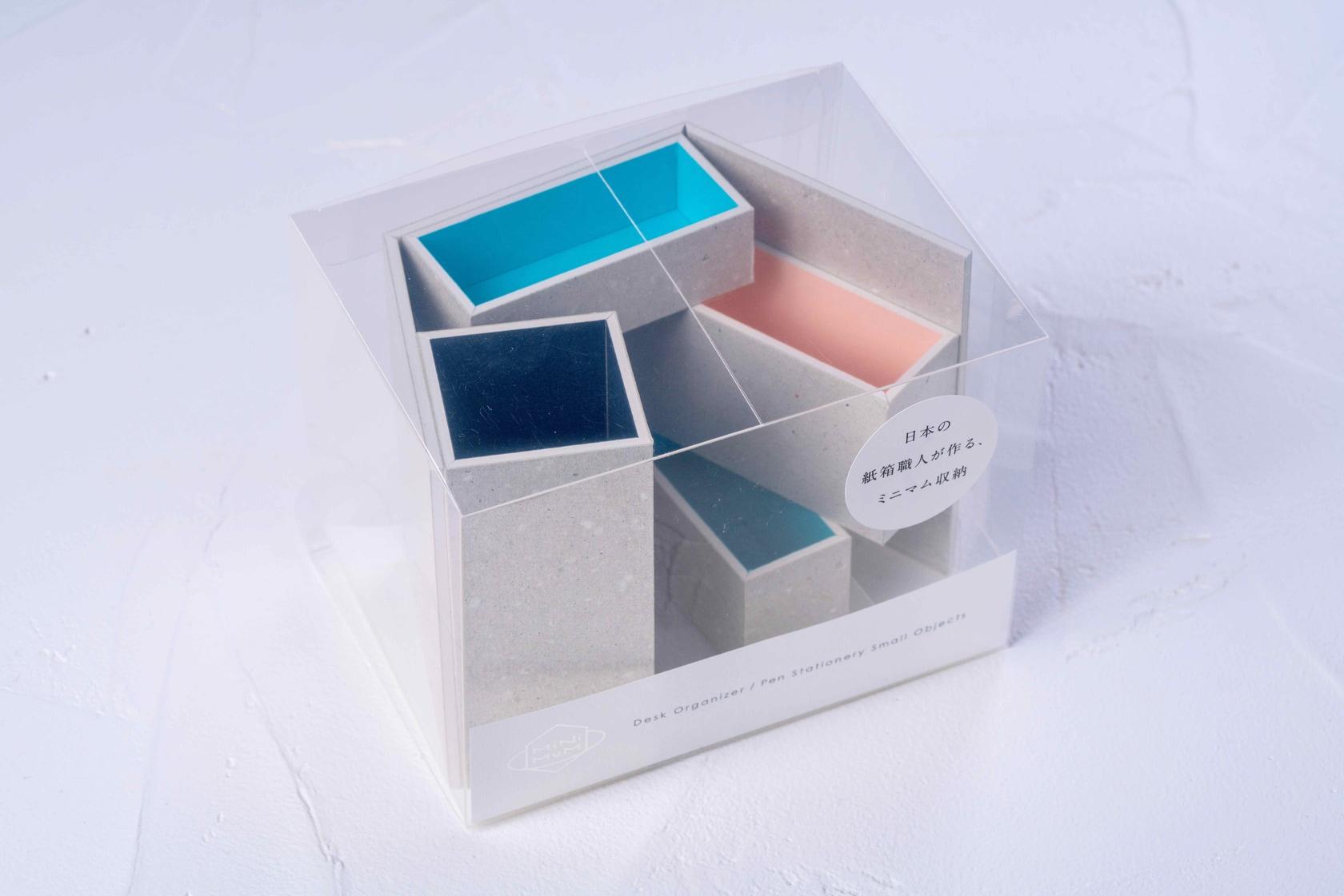 モリタのMiNiMuM Space BOX-1(グレー)のパッケージ