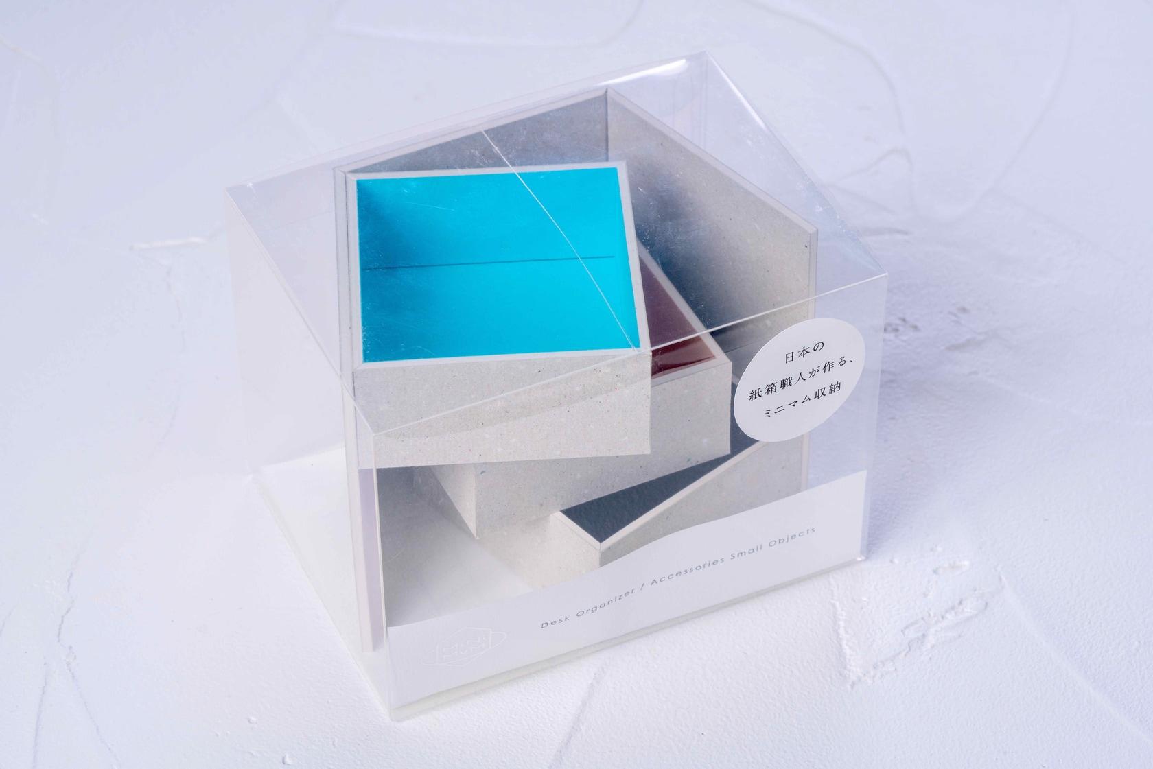 モリタのMiNiMuM Space BOX-2(グレー)のパッケージ