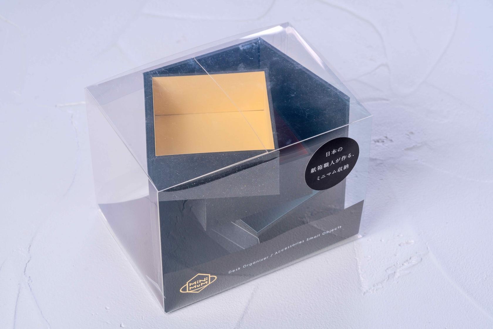 モリタのMiNiMuM Space BOX-2(ブラック)のパッケージ