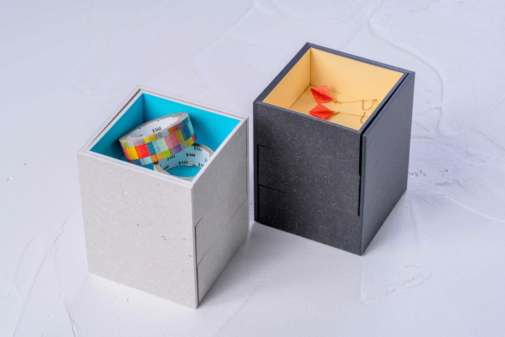 使い方自由で様々な物を収納できるモリタのミニマムスペースボックス2,札幌スタイル認証商品