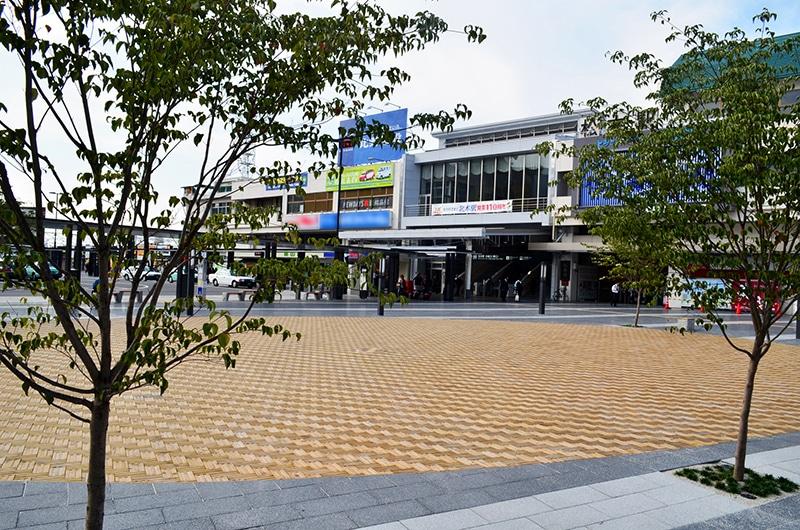 松本駅前 MUKUタイル