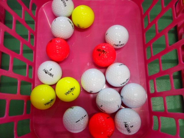 ゴルフボール使用率No6ホンマ