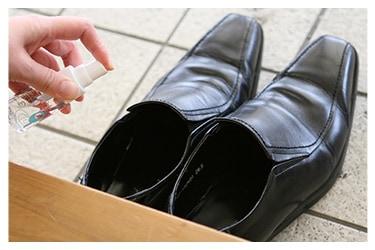 靴の消臭に