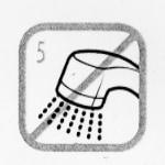 シャワーの蛇口