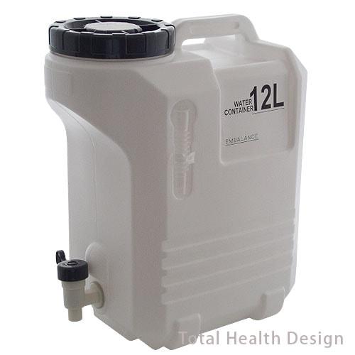 エンバランス容器 12Lタンク(竹炭60g付)
