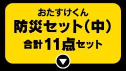 おたすけくん 防災セット(中)合計11点セット