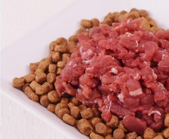 カンガルー肉ミンチ小分けトレー