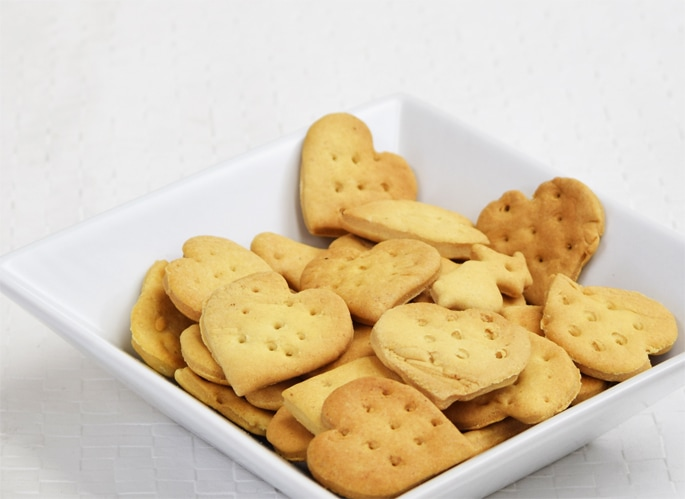 砂糖や防腐剤・着色料を一切使用していない素材の味だけを楽しめる素朴なクッキー