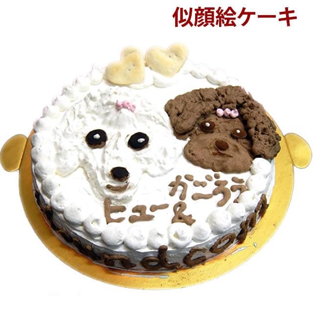 特別な日に似顔絵ケーキ