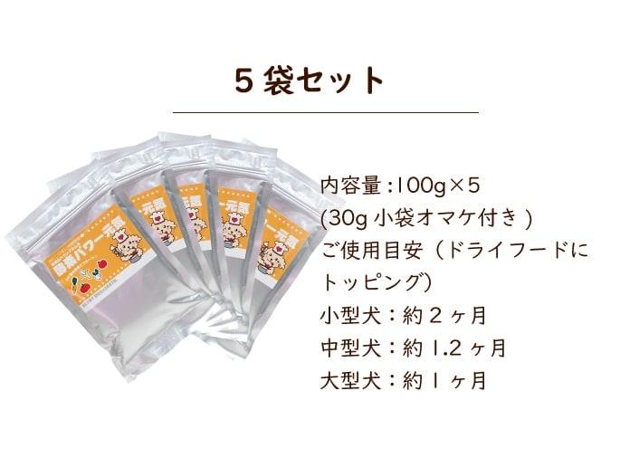 酵素パワー元気100g5袋