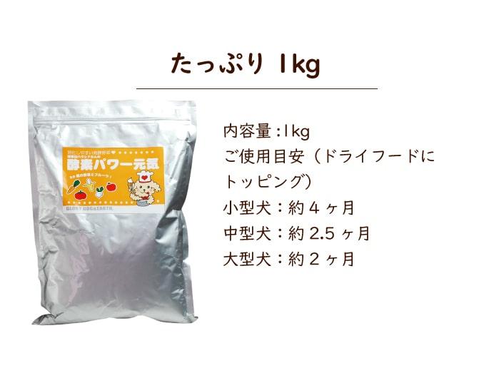 酵素パワー元気1kg