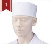 和帽子人気ランキング1位 小判帽[2枚入](高さ9cm)[KAZEN製品] 472-50