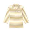 おすすめボーダーコーディネート ボーダーバスクシャツ七分袖[男女兼用][チトセ製品] AS8254