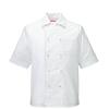 衿付きコックシャツ[男女兼用][KAZEN製品] 401-4