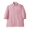 ストライプビエラシャツ7分袖[男女兼用][住商モンブラン製品] MC735
