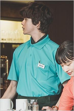 ドライポロシャツ半袖 00330-AVP