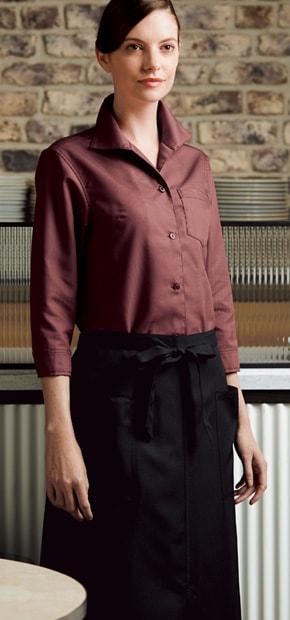 レディスシャツ七分袖 627