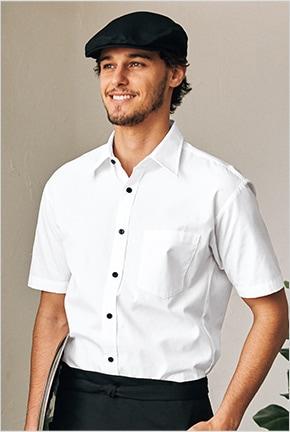 ブロードシャツ半袖 EP5963