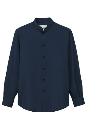 スタンドカラーシャツ長袖 EP6839