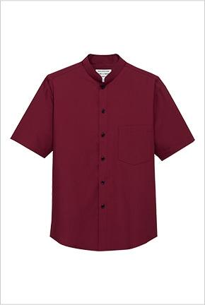 スタンドカラーシャツ半袖 EP6840