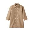 チェックシャツ7分袖[男女兼用][住商モンブラン製品] WC2621