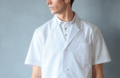 診察衣/男子半袖の商品一覧